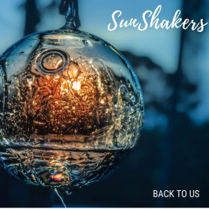 sun shakers front cover of latest release. Music band dublin psychedelic soul